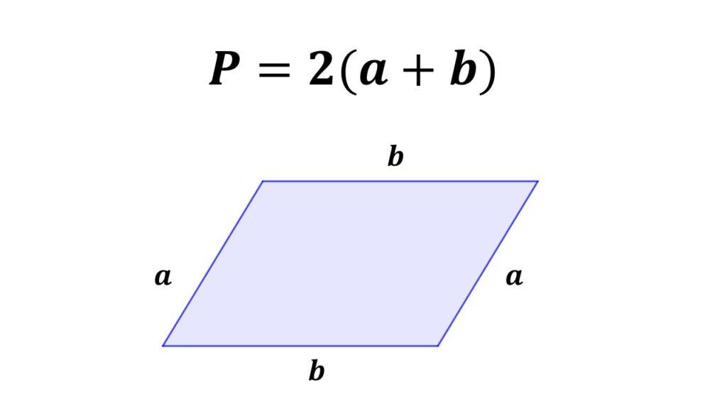 perímetro del romboide