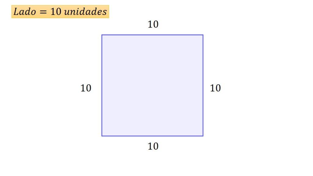 perímetro y area del cuadrado